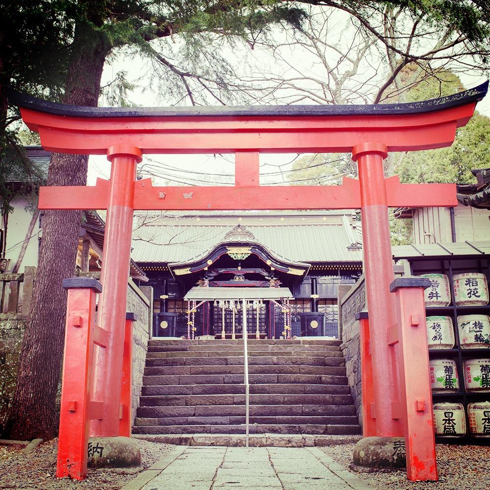 平成29年春、新たな社殿となった玉前神社
